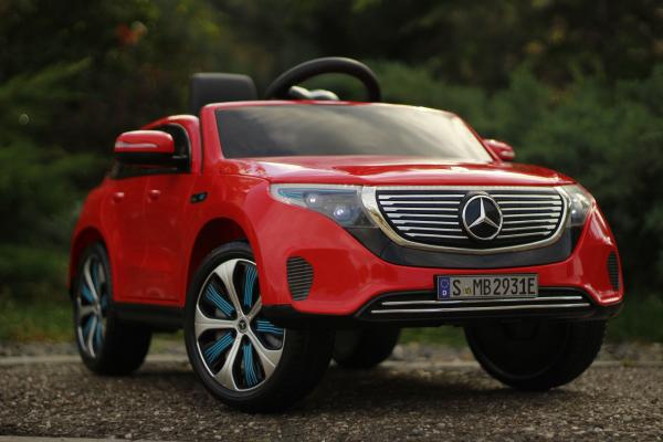 Masinuta electrica Mercedes EQC400 70W 12V STANDARD #Rosu 1
