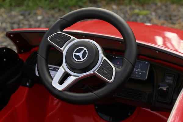 Masinuta electrica Mercedes EQC400 70W 12V STANDARD #Rosu 2