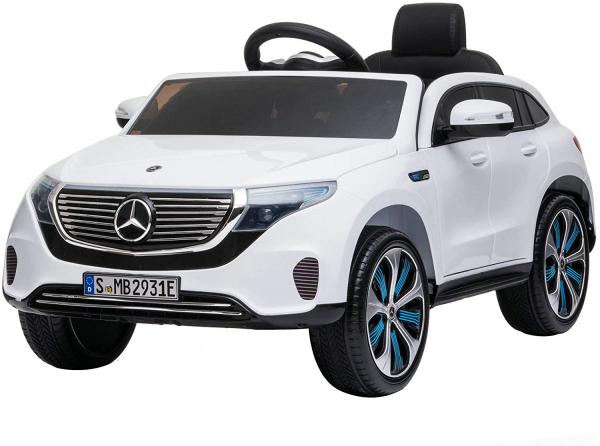 Masinuta electrica Mercedes EQC400 70W 12V STANDARD #Alb 0