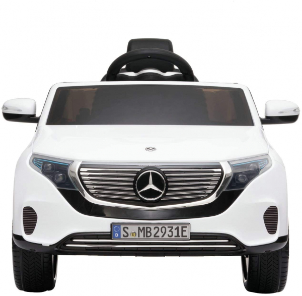 Masinuta electrica Mercedes EQC400 70W 12V STANDARD #Alb 5