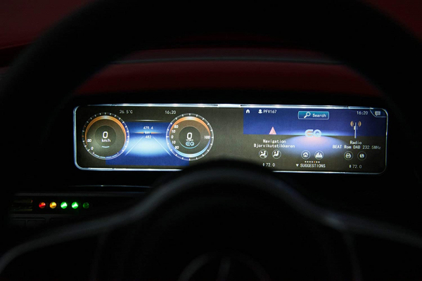 Masinuta electrica Mercedes EQC400 70W 12V STANDARD #Alb 8