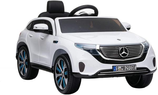 Masinuta electrica Mercedes EQC400 70W 12V STANDARD #Alb 3