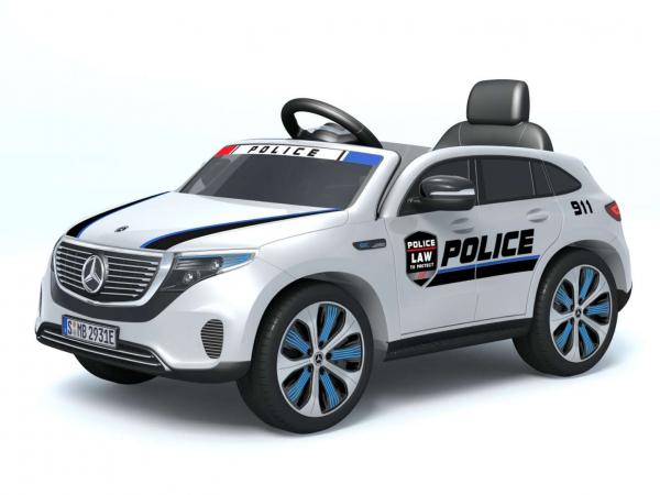 Masinuta electrica Mercedes EQC400 70W 12V STANDARD #Alb 9
