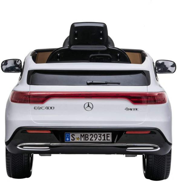 Masinuta electrica Mercedes EQC400 70W 12V STANDARD #Alb 4