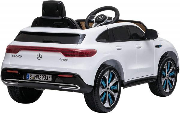 Masinuta electrica Mercedes EQC400 70W 12V STANDARD #Alb 2