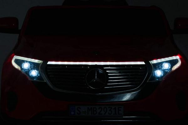 Masinuta electrica Mercedes EQC400 70W 12V STANDARD #Alb 6