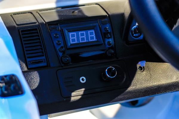 Masinuta electrica Mercedes G55 AMG 12V CU ROTI MOI #Alb 8