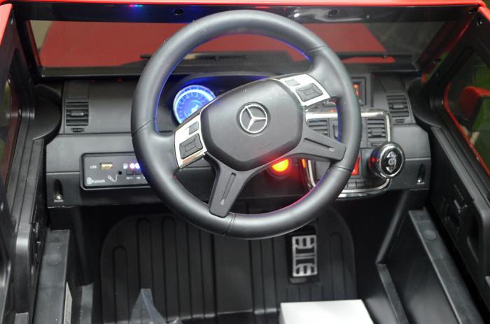 Mercedes G63 6x6 180W 12V echipare premium rosie [5]