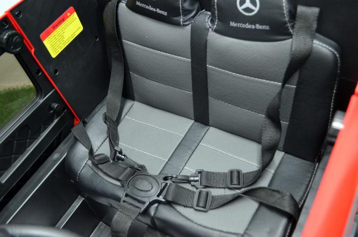 Mercedes G63 6x6 180W 12V echipare premium rosie [4]