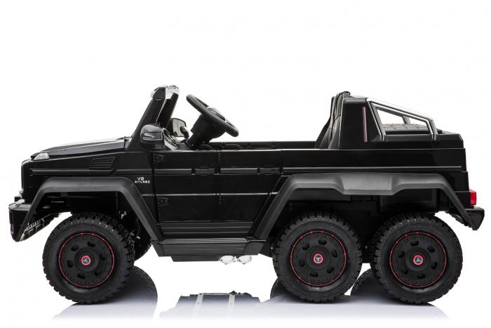 Masinuta electrica copii Mercedes G63 6x6 270W, neagra [22]