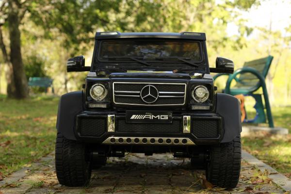 Masinuta electrica Mercedes G63 6x6 270W DELUXE #Negru 2