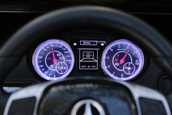 Masinuta electrica copii Mercedes G63 6x6 270W, neagra [10]