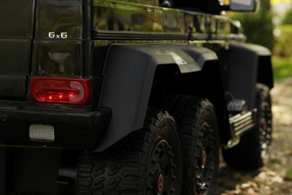 Masinuta electrica copii Mercedes G63 6x6 270W, neagra [16]