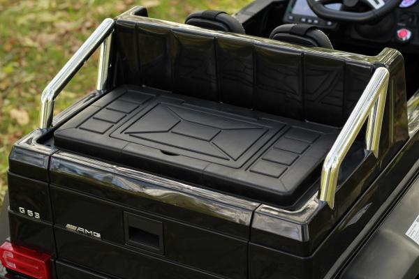 Masinuta electrica Mercedes G63 6x6 270W DELUXE #Negru 12
