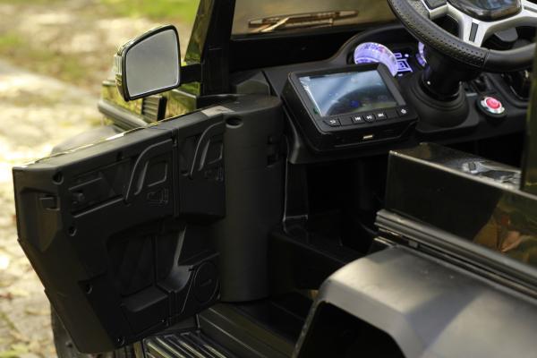 Masinuta electrica Mercedes G63 6x6 270W DELUXE #Negru 20
