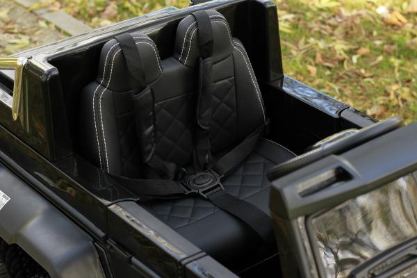 Masinuta electrica copii Mercedes G63 6x6 270W, neagra [14]