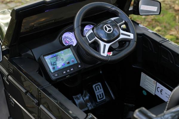 Masinuta electrica Mercedes G63 6x6 270W DELUXE #Negru 7