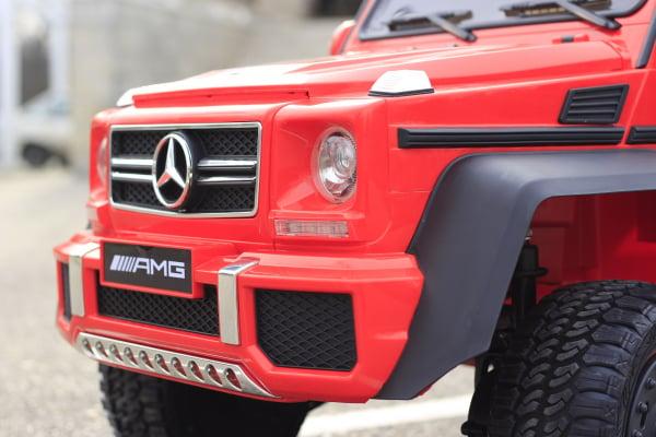 Masinuta electrica Mercedes G63 6x6 Premium cu 6 motoare #Rosu 13