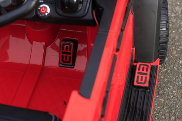 Masinuta electrica Mercedes G63 6x6 Premium cu 6 motoare #Rosu 16