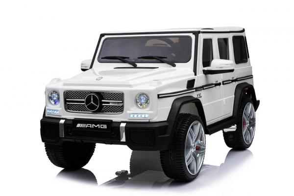 Masinuta electrica Mercedes - Benz  G65 XXL STANDARD #ALB 2