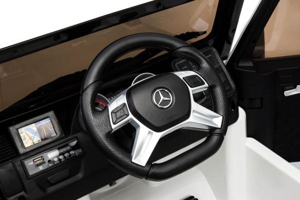 Masinuta electrica Mercedes - Benz  G65 XXL STANDARD #ALB 9