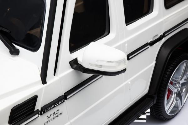 Masinuta electrica Mercedes - Benz  G65 XXL STANDARD #ALB 6