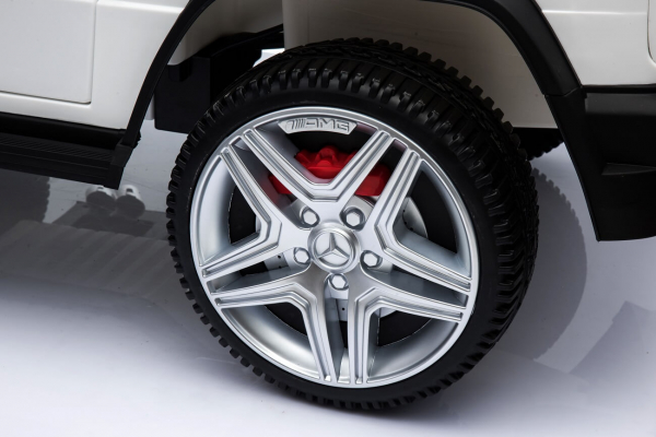 Masinuta electrica Mercedes - Benz  G65 XXL STANDARD #ALB 5