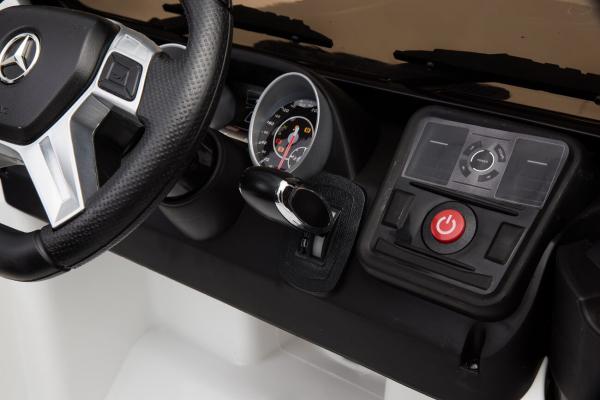 Masinuta electrica Mercedes - Benz  G65 XXL STANDARD #ALB 12