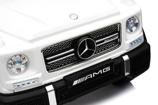 Masinuta electrica Mercedes - Benz  G65 XXL STANDARD #ALB 4