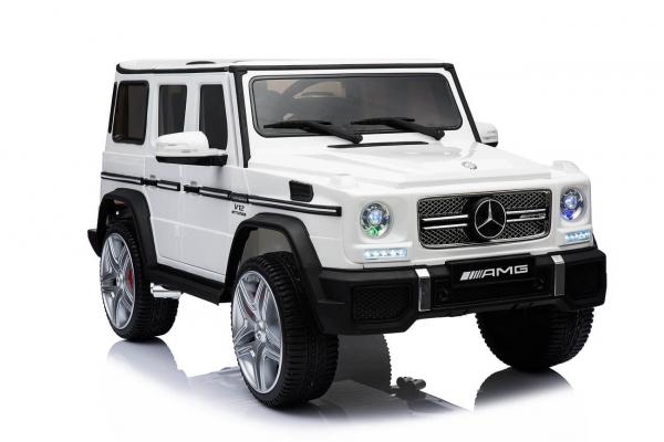 Masinuta electrica Mercedes Benz G65 pentru copii 0