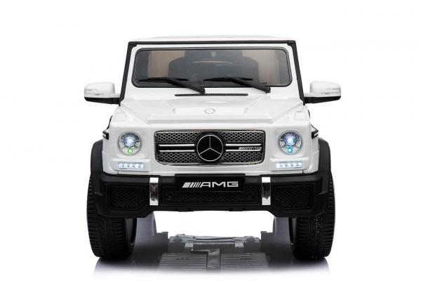 Masinuta electrica Mercedes - Benz  G65 XXL STANDARD #ALB 1