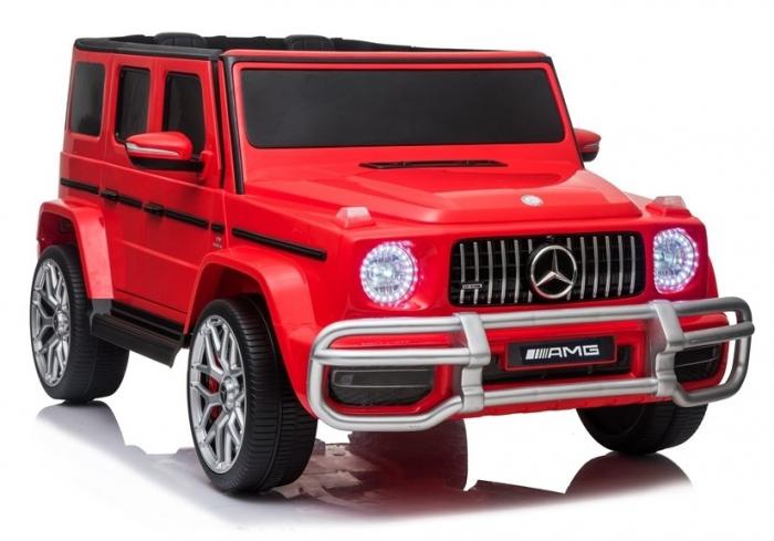 Masinuta electrica copii Mercedes G63 XXL, 180W, rosu [1]