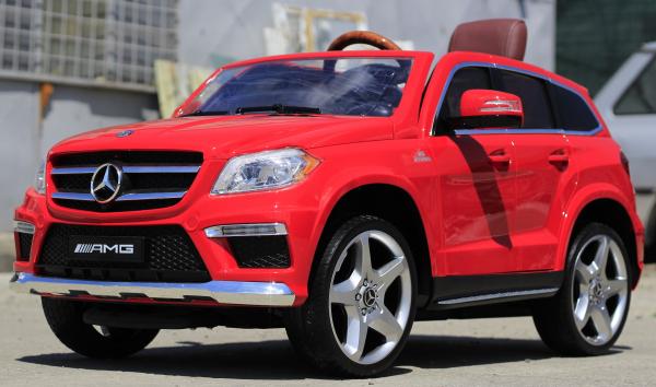 Masinuta electrica Mercedes GL63 4x4 DELUXE #Rosu 3