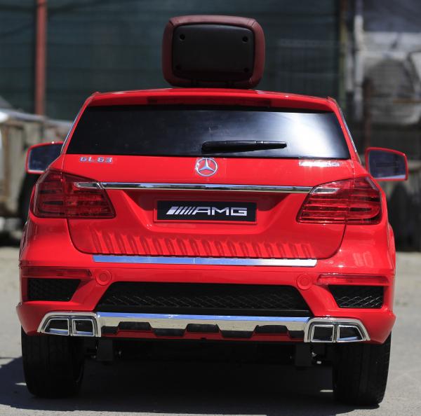 Masinuta electrica Mercedes GL63 4x4 DELUXE #Rosu 4