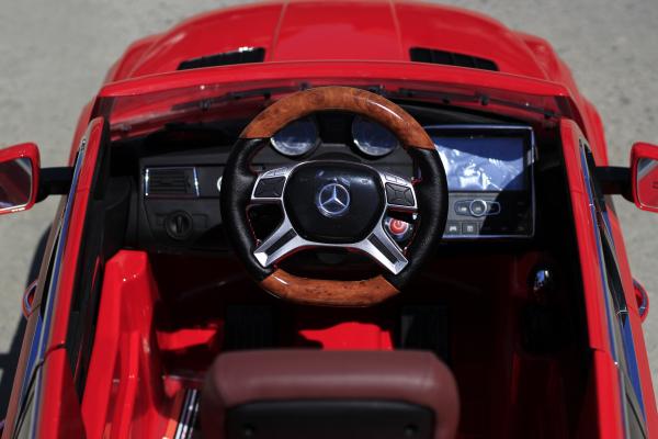 Masinuta electrica Mercedes GL63 4x4 DELUXE #Rosu 7