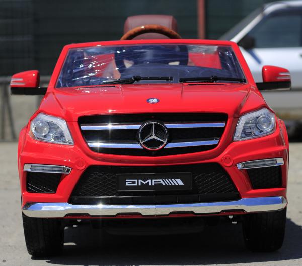 Masinuta electrica Mercedes GL63 4x4 DELUXE #Rosu 1