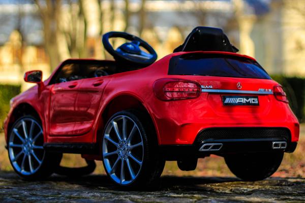 Masinuta electrica Mercedes GLA 45 2x30W STANDARD #Rosu 5