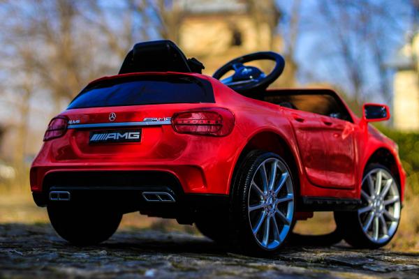 Masinuta electrica Mercedes GLA 45 2x30W STANDARD #Rosu 7