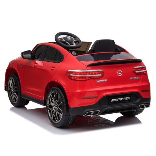Masinuta electrica Mercedes GLC 63s 2x35W 12V STANDARD #Rosu [2]