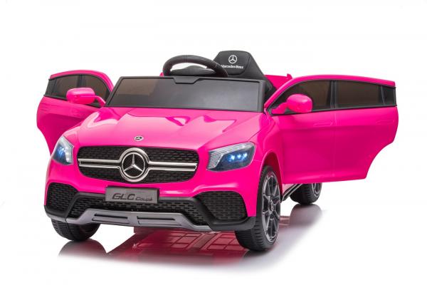 Masinuta electrica Mercedes GLC Coupe 50W 12V STANDARD #Roz 5