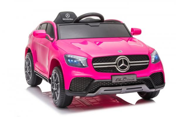 Masinuta electrica Mercedes GLC Coupe 50W 12V STANDARD #Roz 4