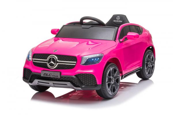Masinuta electrica Mercedes GLC Coupe 50W 12V STANDARD #Roz 0