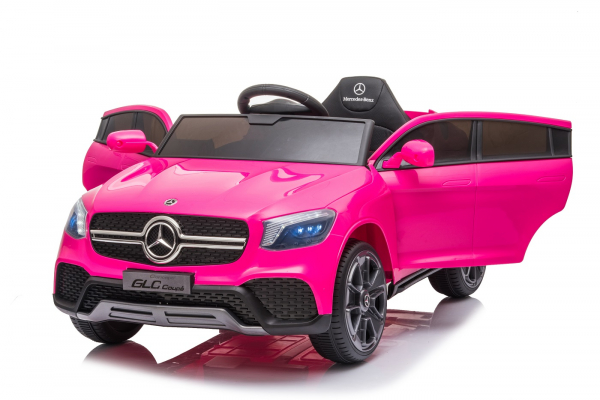 Masinuta electrica Mercedes GLC Coupe 50W 12V STANDARD #Roz 6
