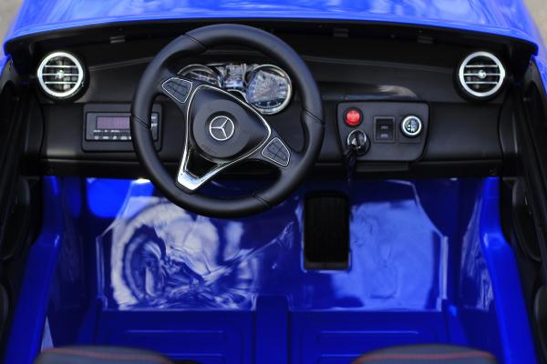 Masinuta electrica Mercedes GLC63s AMG 4x4 180W PREMIUM #Albastru 6