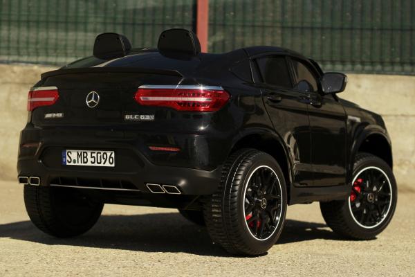 Masinuta electrica Mercedes GLC63s AMG 4x4 STANDARD #Negru 5