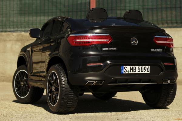 Masinuta electrica Mercedes GLC63s AMG 4x4 STANDARD #Negru 6