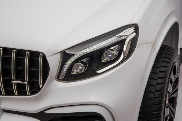 Masinuta electrica Mercedes GLC63s AMG 4x4 STANDARD #Alb 5