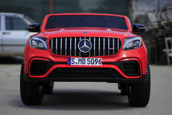 Masinuta electrica Mercedes GLC63s AMG 4x4 STANDARD #Rosu 1
