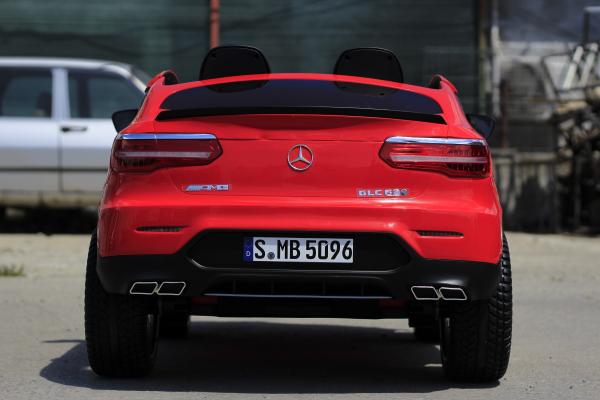 Masinuta electrica Mercedes GLC63s AMG 4x4 STANDARD #Rosu 4