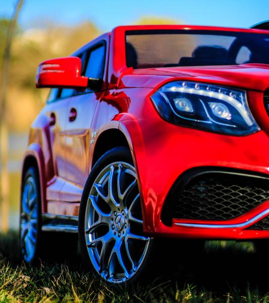 Masinuta electrica Mercedes GLS63 AMG 4x4 24V STANDARD #Rosu 10